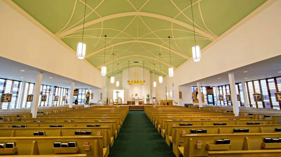 view-to-altar St pats